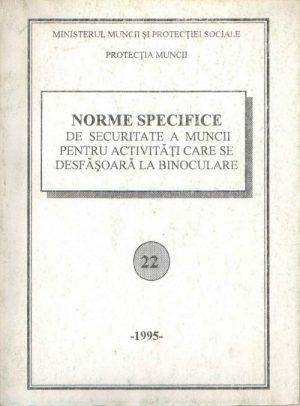 NSSM 22 - PROTECTIA MUNCII