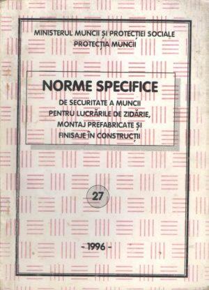 NSSM 27 - PROTECTIA MUNCII