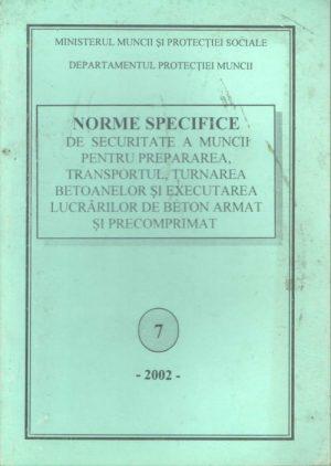 NSSM 7 - PROTECTIA MUNCII