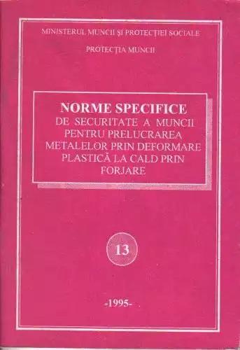 NSSM 13 PROTECTIA MUNCII